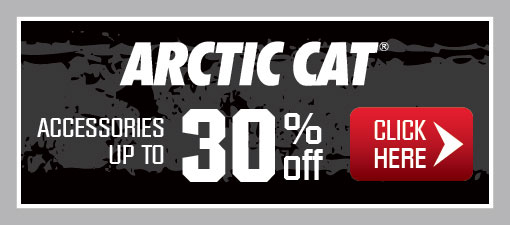 Arctic Cat Accessories up to 30% Off