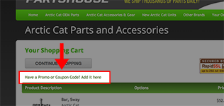 arctic cat parts nation coupon code